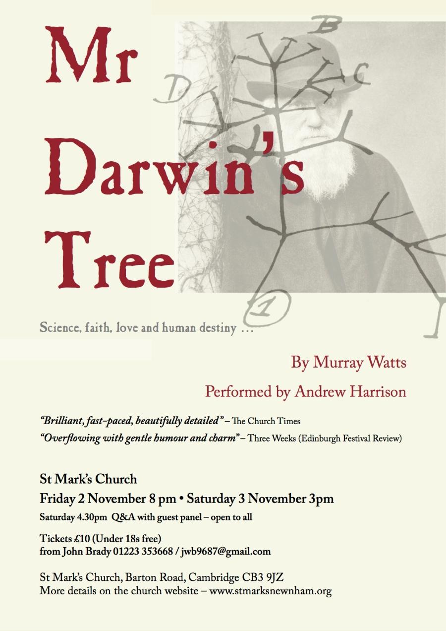 Mr Darwin's Poster