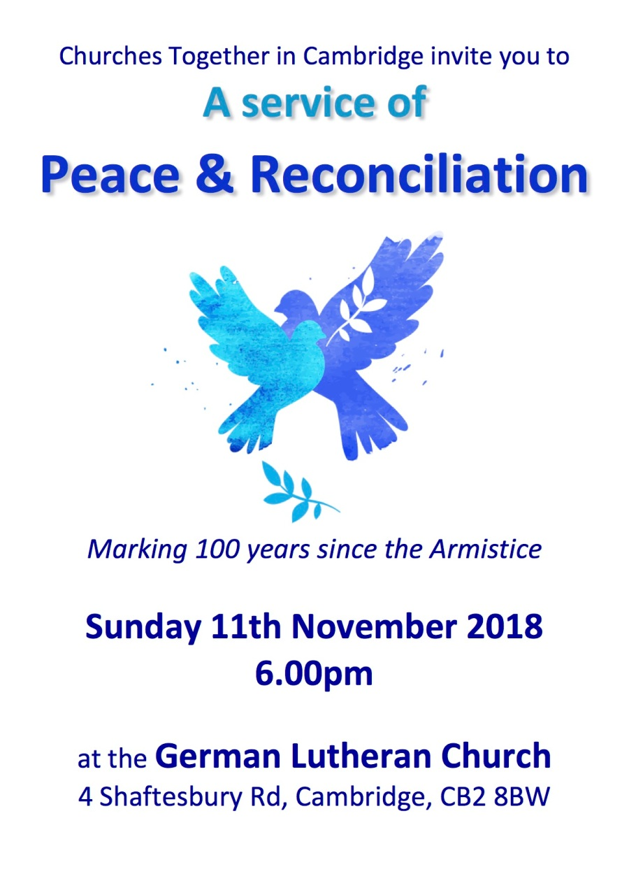 service of peace and reconciliation